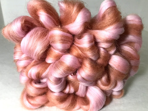 1 lb. Blush Roving - Hoof-To-Hanger