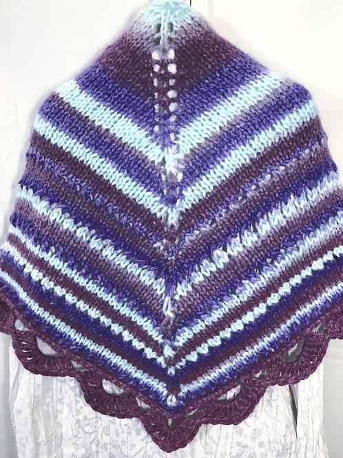 Lena Skiba Artisan Hand Knitted Shawl