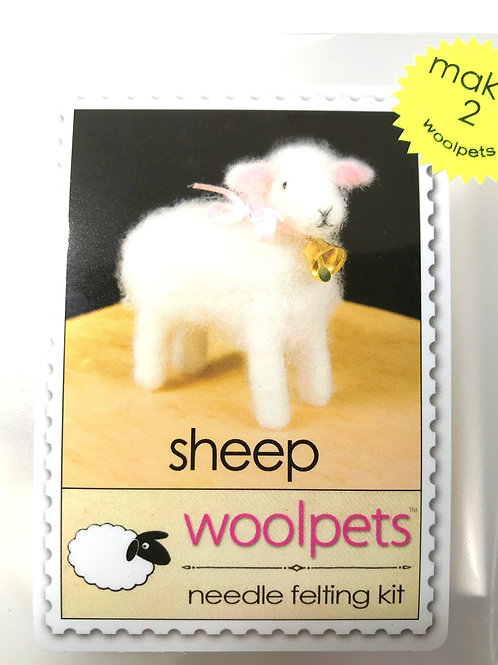 Sheep Needle Felting Kit - Woolpets