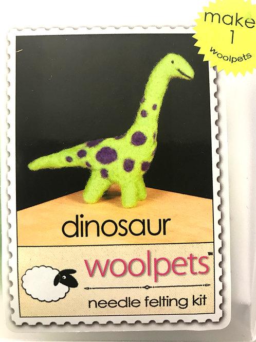 Dinosaur Needle Felting Kit - Woolpets