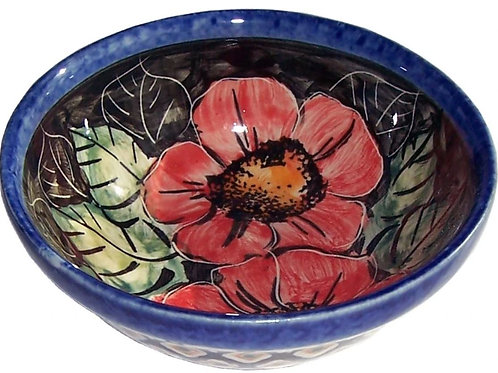 Ice Cream or Condiment Bowl - Polish Pottery