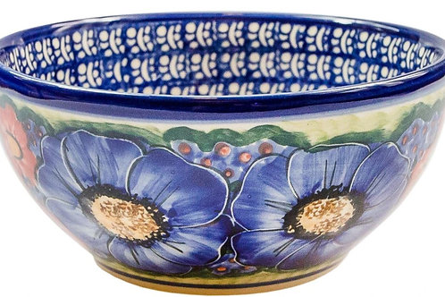 Cereal or Chili Serving Bowl - Polish Pottery