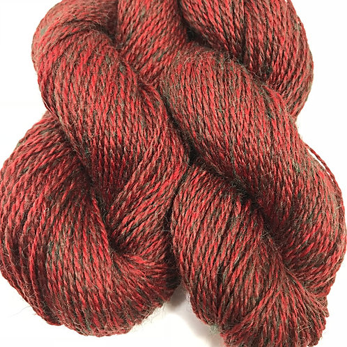 Holly Berry Sock Weight Yarn - Hoof-To-Hanger
