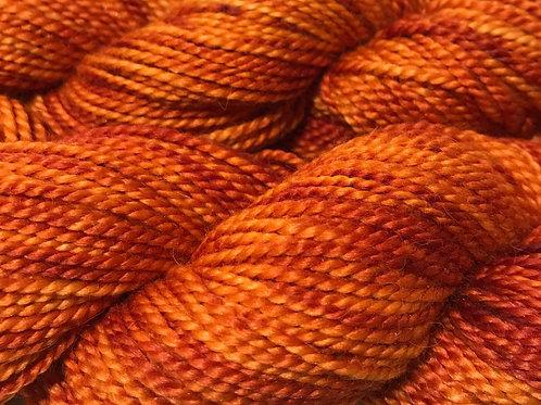 Variegated Saffron XL Sport Weight Yarn - Hoof-To-Hanger