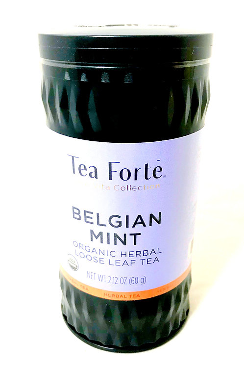 Tea Forte Belgian Mint Cannister