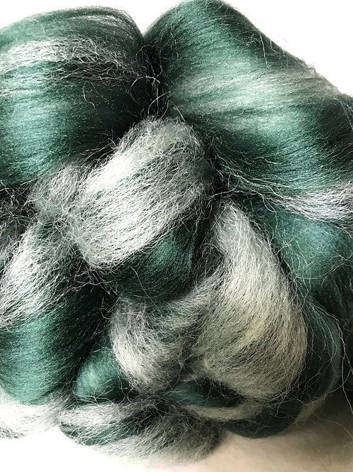 4 oz. Frosted Spruce Roving - Hoof-To-Hanger