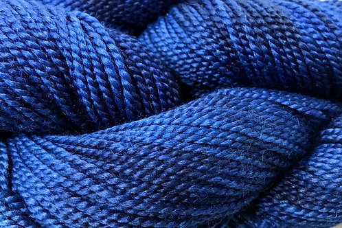 Variegated Navy DK Weight Yarn - Hoof-To-Hanger