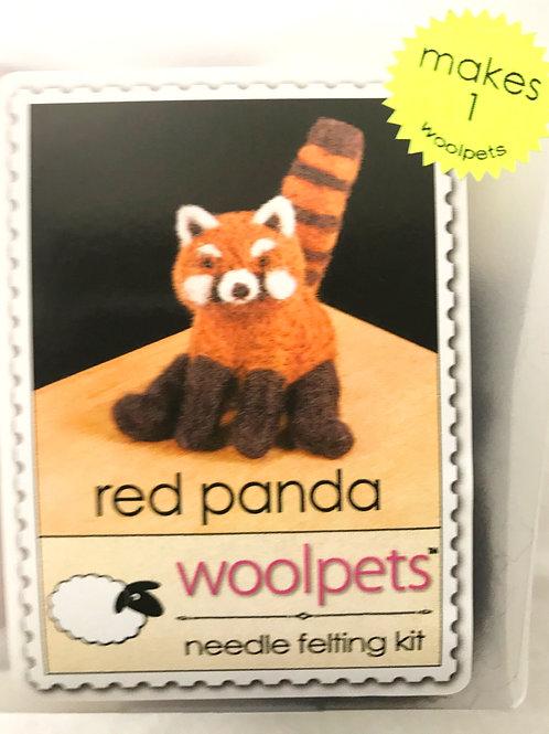 Red Panda Needle Felting Kit - Woolpets