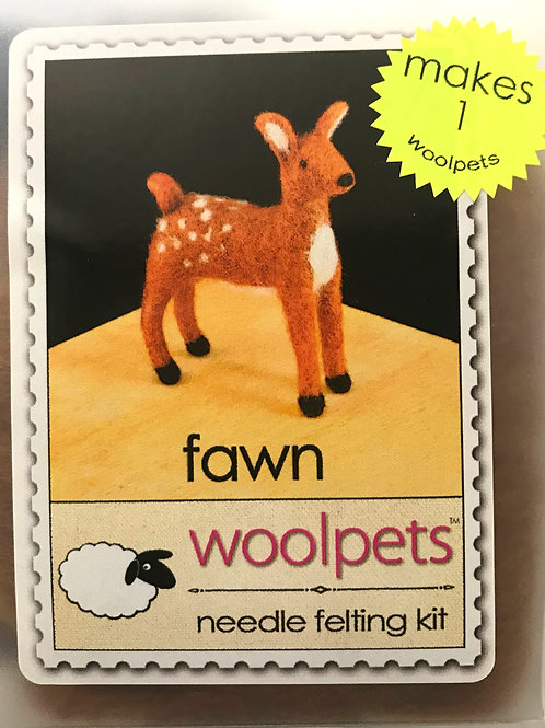 Fawn Needle Felting Kit - Woolpets