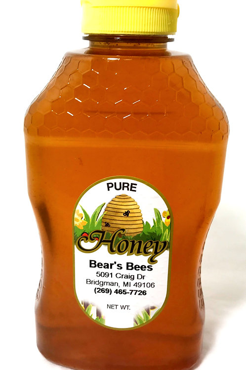 Bear's Bees Pure Local Honey - Two Pound
