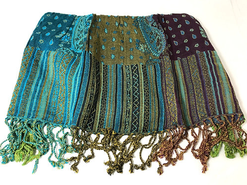Fair Trade Jacquard Caravan Scarf