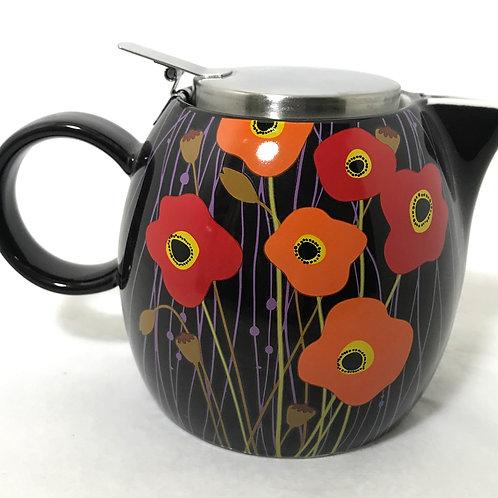 Tea Forte Poppy Fields Pugg Teapot