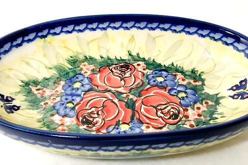 Small Oval Baker - Polish Pottery