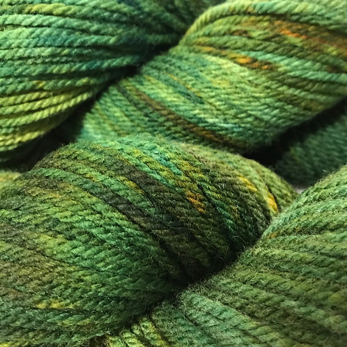 Green With Envy Worsted Weight Yarn - Hoof-To-Hanger