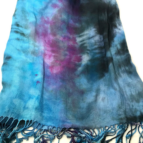 Susan Atwell Artisan Hand Dyed Shawl