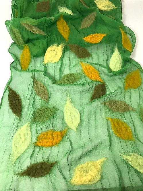 Elizabeth Kozlowski Artisan Wool Felted Scarf