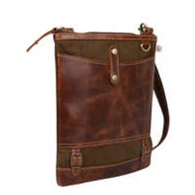 Patterson Green - Upcycled Leather Bag - Vaan & Co.
