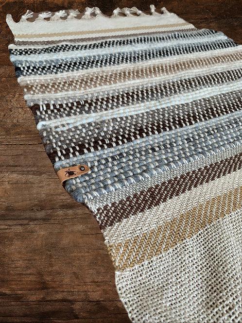 Melanie Nieske Custom Hand Woven Mat - Hoof-to-Hanger Fiber Mill