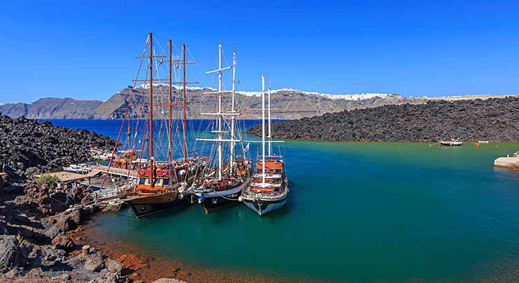 Volcano Boat Tour