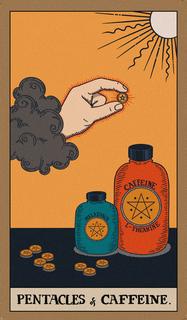 Pentacles of Caffeine.