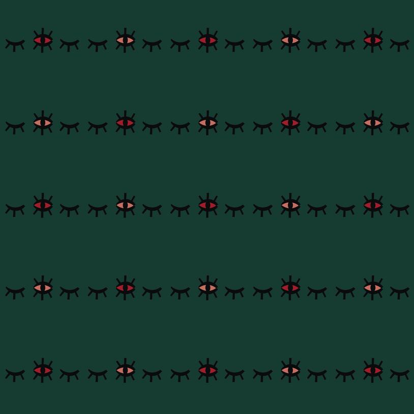 Speckled Eyes - Barcode Stripe