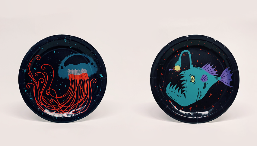 Under the Deep Sea Paper Plates