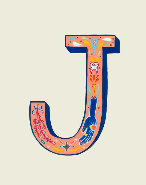 """Ornamental """"J"""""""