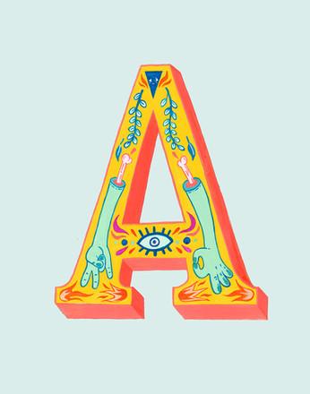 """Ornamental """"A"""""""