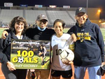 Haley Gschrey Scores her 100th High School Goal!