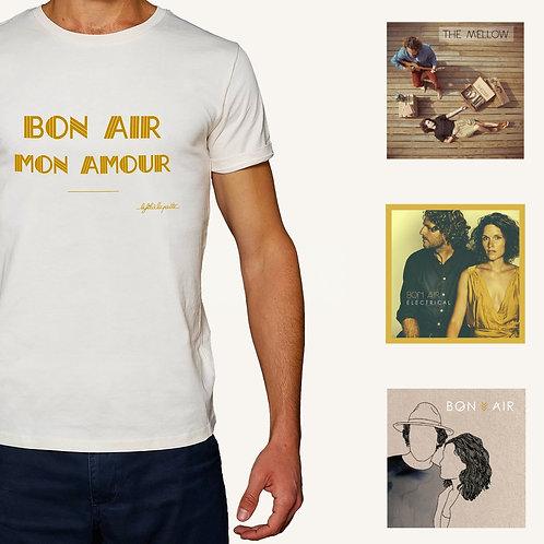 Xmas pack 🎄1 T-Shirt BON AIR MON AMOUR = EP Offert