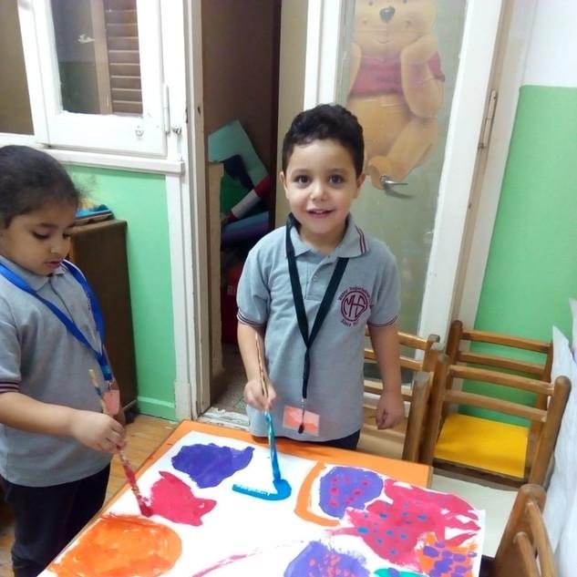 KG Art Lesson