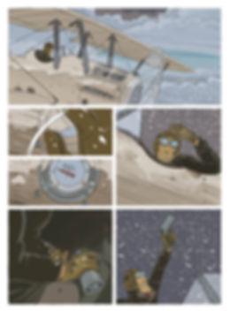 Extrait du Vent des Cimes de Christian Perrissin & Eric Buche, page 20, Editions Glénat