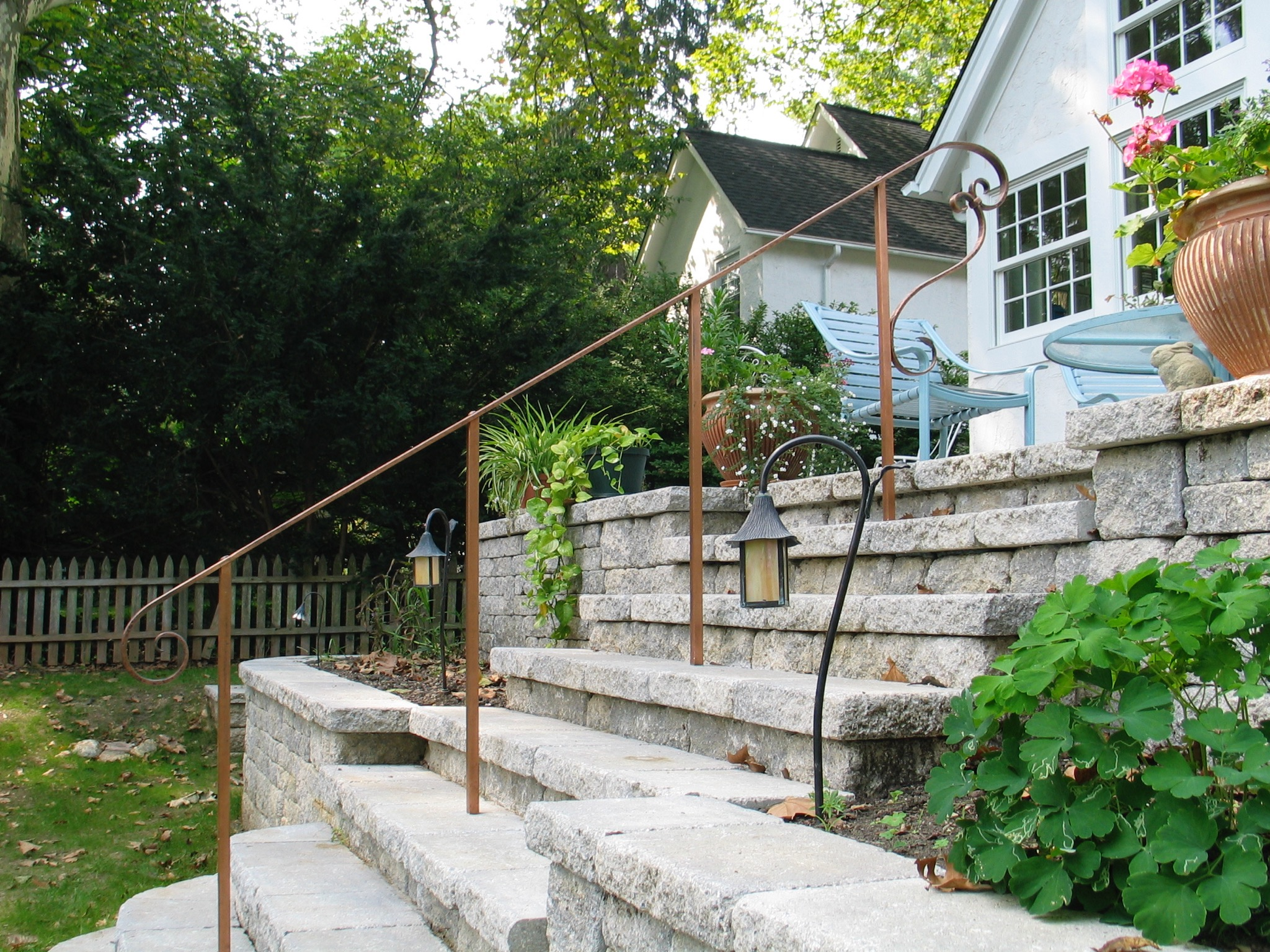 Patio Handrail
