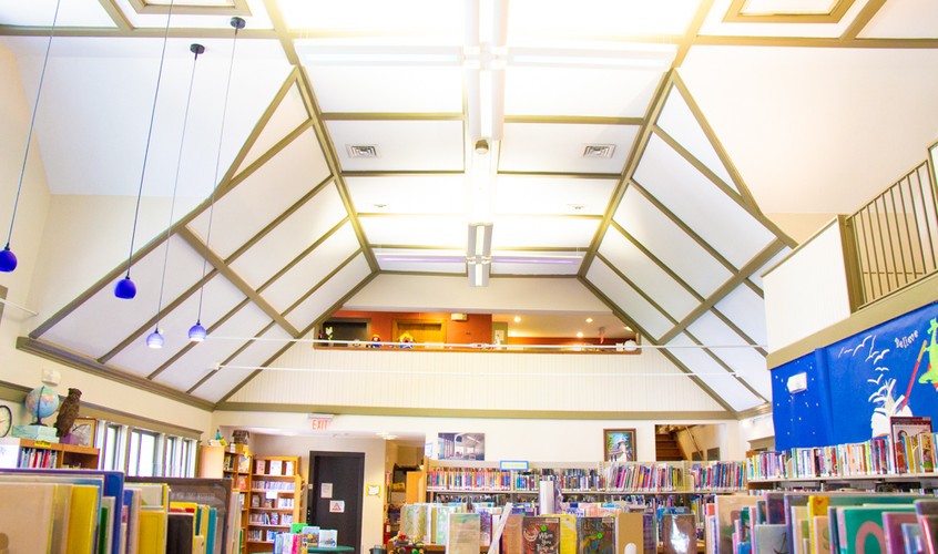 Our Second Floor and Children's Library