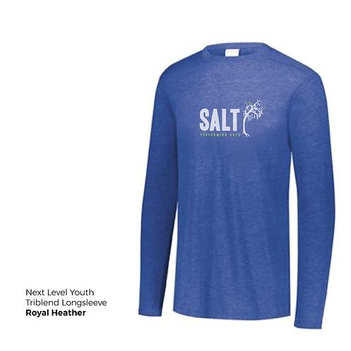 SALT Logo Longsleeve Youth Tee