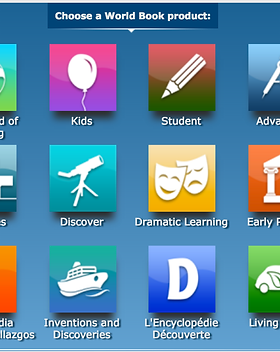 World Book Online launchpad