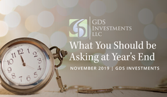 What You Should be Asking at Year's End
