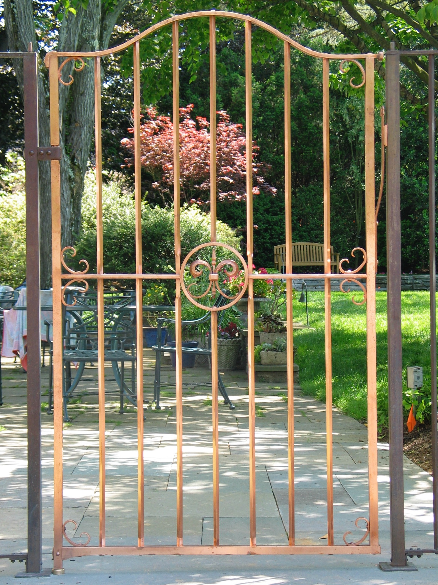 20. Copper Entry Gate
