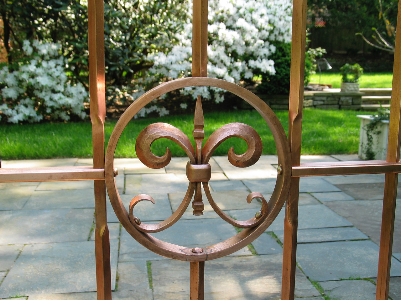 1. Copper Gate Detail