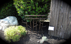 11. Rustic Copper Fence