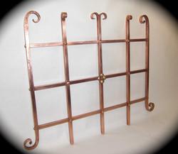 4 Copper Trellis Fragment