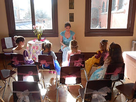 Princess Party at West Chester Public Library