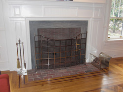 24. Fireplace Screen and Tools