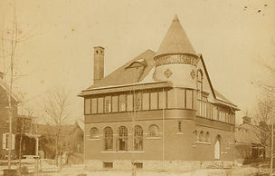 1888 Photograph of the West Chester Library