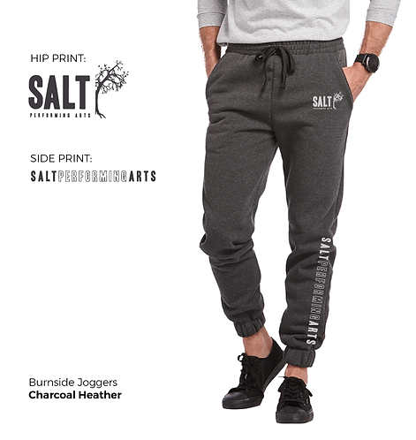 SALT Logo Unisex Fleece Joggers