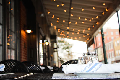 Chester County outdoor dining (Mercato)
