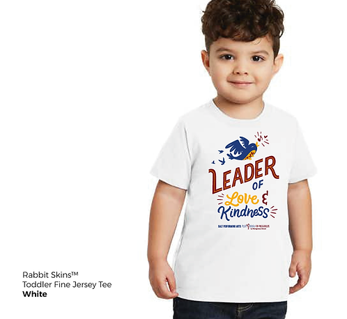 Leader of Love & Kindness Toddler Fine Jersey Tee