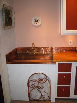 5. Copper Farm Sink