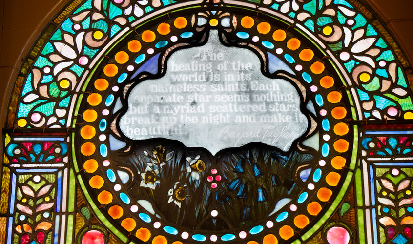 Stained Glass Window 3 Detail