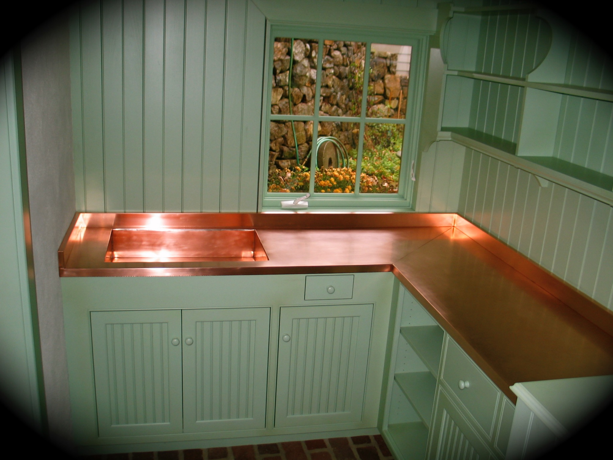 9. Copper Counter Top